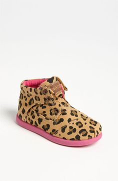 TOMS 'Botas Tiny - Leopard' Boot (Baby, Walker & Toddler) available at Nordstrom