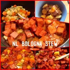 Bologna Stew is so delicious with big flavours and one of many Traditional Newfoundland recipes you can make with Bologna. Bologna Food, Ring Bologna, Bologna Recipes, Newfoundland Recipes, Homemade White Bread, Bread Dishes, Cooking Recipes, Top Recipes, Sausage Recipes