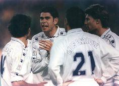 1994-95-Milla, Hierro, Luis Enrique y Laudrup