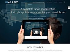 AT Apps Joomla! template by Age Themes on @creativemarket