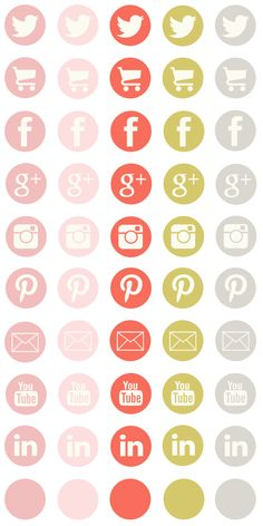 Free social media icons from lovelytocu.com