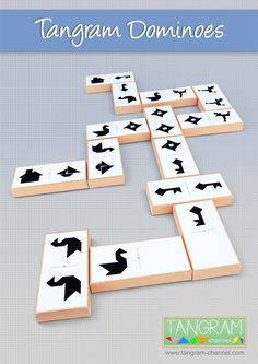The Tangram Channel provides a great number of tangram puzzles, short videos, step by step tutorials and tangram-related activities. Tangram Puzzles, Free Games, Free Ebooks, Card Games, Free Printables, Playing Cards, Kids Rugs, Memories, Templates