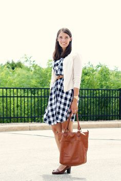 Gingham and Cognac