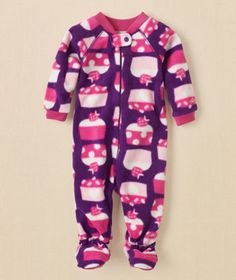 Cupcake Blanket Sleeper and other cute PJ's for your little one: http://www.retailmenot.com/blog/pajamas-for-babies.html