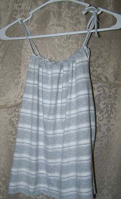 Upcycled T-Shirt!  Cute tank from old shirt!