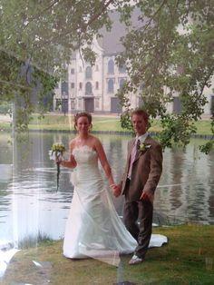 Chantal Weeterings en haar man kozen 7 juli 2006 om hun trouwfoto's te laten maken in de Efteling