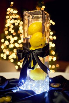 Lemon Centrepieces