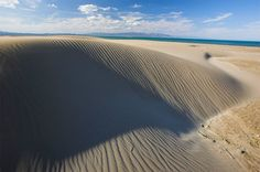 Perderse por las dunas de camino a  la Punta del Fangar del Delta del Ebro (Tarragona)