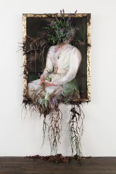 """New York City Artist, Valerie Hegarty, has a breathtaking exhibit of well-known art pieces from History."""