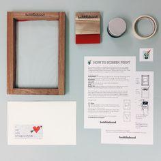 easy screen print kit maxi