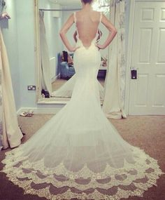 Mermaid Wedding Dress Wishes Bells Day Bride Dream