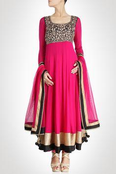 3b74780f8bd6d Fashion  Exquisite Anarkali Designs 2014 Designer Gotazari Indian Anarkali  Dresses