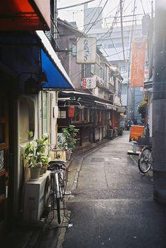 Showa - 昭和 by Shoji Kawabata Bg Design, Japon Tokyo, Japan Street, Tokyo Streets, Old Street, Japanese Streets, Japanese Architecture, Japan Travel, Kyoto