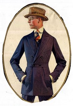 J.C. Leyendecker illustration / Kuppenheimer Suits / The Beltsac