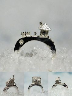 Etoile des neiges (The Carrotbox Jewelry Blog - rings, rings, rings!)