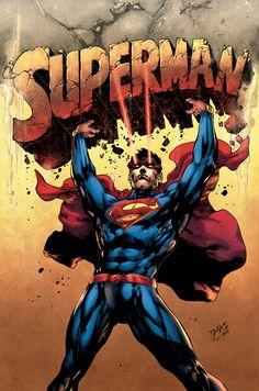 #Superman #Fan #Art. (Superman comic 2014) By: Ed Benes. (THE * 5 * STÅR * ÅWARD * OF * MAJOR ÅWESOMENESS!!!™)