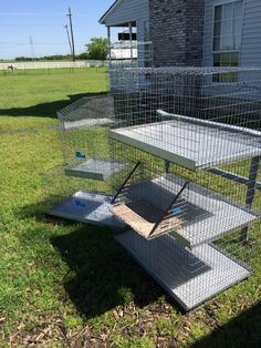 RL Rabbitry (April 25, 2015) : Thank you Dave the Cage Man in Canton, Tx. I got a 3 stacker- 24x36, 1 individual 24x36, an 18x18 quarantine cage, 1 wire nestbox, 1 grooming shelf that attaches to the cage, and a free mini baby carrier for only $170.