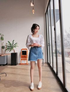 78 Cute Hipster Outfits for Girls That Will Fascinate You Korean Casual Outfits, Korean Summer Outfits, Cute Hipster Outfits, Trendy Outfits, Fashion Outfits, Ulzzang Fashion Summer, Korean Fashion Summer Street Styles, Korean Fashion Summer Casual, Korean Ootd