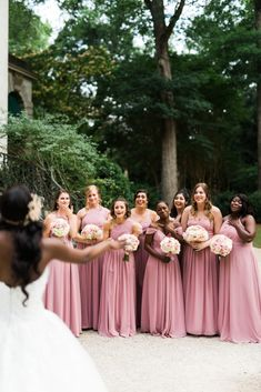 How do you pick your bridesmaids? Do I have to pay for everything? I'm sharing all of my advice as a recent newlywed. Blush Colored Bridesmaid Dresses, Bridesmaid Robes, Bridesmaids, Best Bridesmaid Gifts, Second Weddings, Bridal Robes, Maid Of Honor, Wedding Vendors, Newlyweds