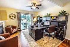 It could be easier to get your other half to sign off on your man cave plans if you sell it as a home office. Home Office Furniture, Cool Furniture, Furniture Online, Furniture Design, Spas, Man Cave Plans, Las Vegas, Interior Decorating, Interior Design