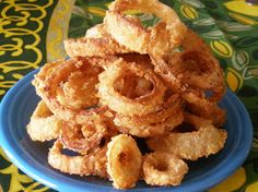 Kittencals Best Crispy Onion Rings Recipe -  These are THE BEST Onion Rings!