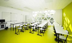 Atelier Fuksas - Gymnazium Montpellier - DesignMagazin.cz