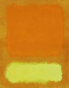 likeafieldmouse:  Mark Rothko - Untitled (Yellow, Orange and Gold)(1968)