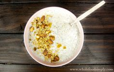 A Simply Delicious Breakfast Bowl