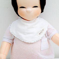 Cute Newborn Baby Bib Piping Bib Cotton Gauze Infant Toddler Handmade Eb234 #Ggoomduboo