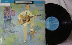 Hank Snow ~ Singing Ranger LP
