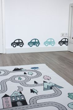 Jongenskamer - By Pien #jongenskamer #kinderkamer #peuter #jongen #auto #decoratie #interieur #inspiratie #kinderkamer Instagram: by.pien Toddler Rooms, Baby Boy Rooms, Baby Room, Nursery Design, Baby Design, Nursery Accessories, Vinyl Wall Art, Baby Hacks, Kids Bedroom
