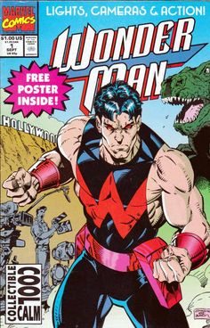 Find 1991 Marvel Comics Wonder Man in the Collectibles - Comics - Copper Age - By Publisher - Marvel category in Webstore online auctions Marvel Comics Art, Marvel Comic Books, Marvel Characters, Marvel Heroes, Comic Books Art, Marvel Avengers, Comic Art, Book Art, Uncanny Avengers
