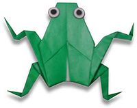 origami-kikker    and many more origami idea. From Beginner to more advanced