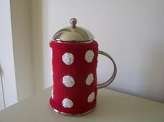 Mug Warmer, a Quick Knitting Project on Craftsy