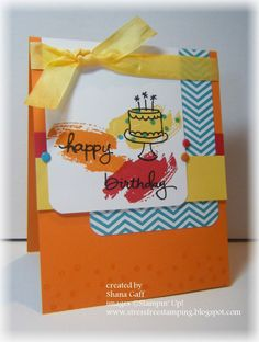 Stampin' Celebration Challenge: SC80 Pick of the Party!  Stampin' Up!