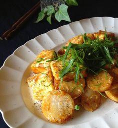 ヘルシーな豆腐とかぶの甘辛のステーキです。マヨポン味で子供も喜んで食べてくれます。お弁当のおかずにもピッタリです。