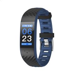 New Smart Band Dynamic UI Fitness Tracker Bracelet Heart Rate Monitor Blood Pressure Wristband Waterproof for IOS Android Windows Fitness Tracker Bracelet, Calorie Counter, Track Workout, Sport Watches, Blood Pressure, Deep Blue, Monitor, Heart Rate, Ios 8