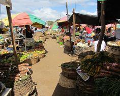 The market at Masaya, Nicaragua