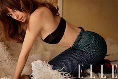 Fifty Shades of Grey star Dakota Johnson channels her role in new very sexy cover for Elle magazine. See the photos and watch the new Behind the Scenes video of the sexy photo shoot for Elle magazine. Carter Smith, Shades Of Grey Film, Fifty Shades Movie, 50 Shades Darker, Hailey Clauson, Don Johnson, Elle Johnson, Dakota Johnson Fifty Shades Darker, Celebrity Daughters