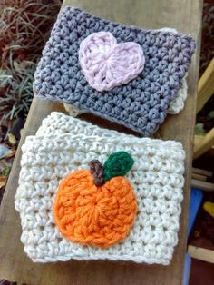 These cute cup cozy's just added...with Free Domestic Shipping!  http://angelarae63.etsy.com