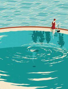 Illustration by Mark Smith. http://www.pinterest.com/villadesroses/illuminating-illustrations/
