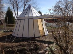 Round pavilion by WellDressedTent on Etsy
