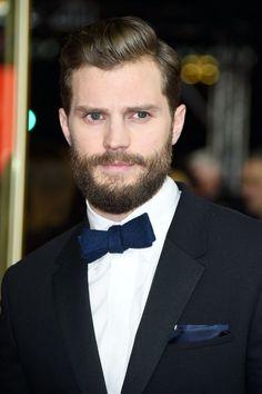 Jamie Dornan Age, Jaime Dornan, Sam Taylor Johnson, Dakota Johnson, Shades Of Grey Movie, Fifty Shades Of Grey, Star Wars, Mr Grey, Beard Lover