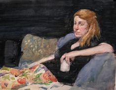 Haynes Galleries - Burt Silverman watercolor