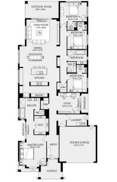 Love Master BR Verandah Patan New Home Floor Plans, Interactive House Plans - Metricon Homes - Melbourne