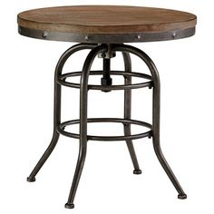 Vennilux Round End Table Grayish Brown - Signature Design by Ashley : Target