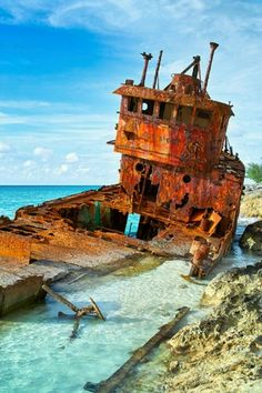 Shipwrecked in Bimini