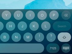 Rounded Keyboard by Apostol Voicu