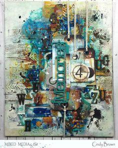 Les péripéties de Talkis Mixed Media, Creations, Scrap, Dots, Studio, Painting, Outer Space, Tat, Painting Art