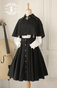 ● ● Cross of War anpassade ursprungliga gotiska retro kofta -Gothic rem klänning stor gunga kjol ● - Taobao